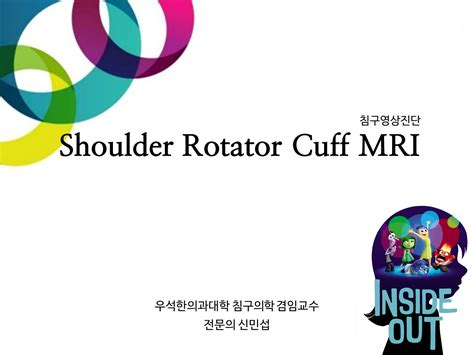 Shoulder Rotator Cuff MRI