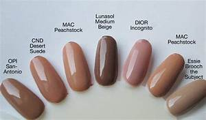 on the make up blogette neutral nails neutral nail