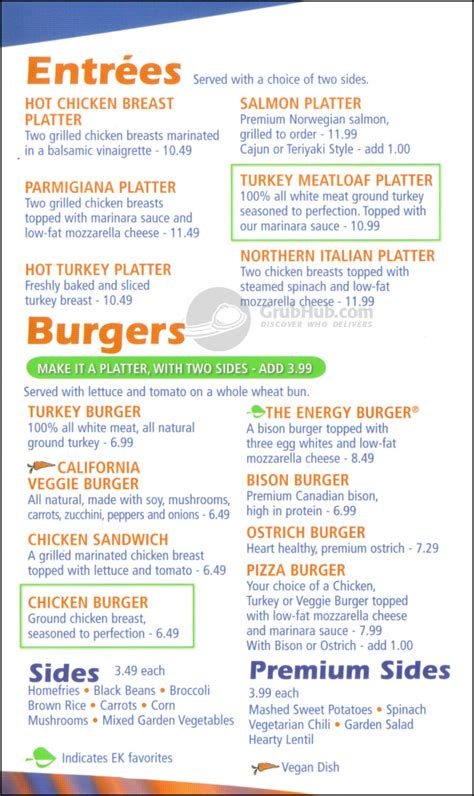 Energy Kitchen 417 W 47th St New York  Order Delivery