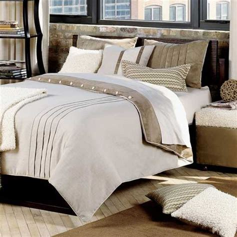 neutral colored bedding textured bedding sets add flare and charm to bedroom decorating ideas
