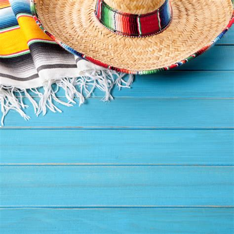 Day Of The Dead Wallpaper Mexican Hat On The Floor Photo Free Download