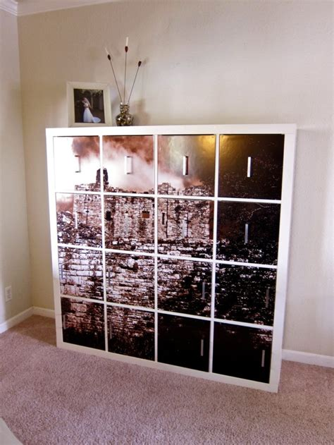 Kallax Ikea Hack by 35 Diy Ikea Kallax Shelves Hacks You Could Try Shelterness