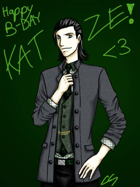 Loki For My Lovely Lady By Blackmagehadoken On Deviantart