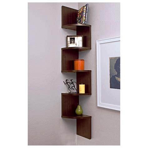2 Corner Wall Shelves Step Shelf Wall 5 Shelves Unit Wall