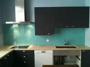 Pose Credence Verre : pose credence cuisine verre trempe cr dences cuisine ~ Premium-room.com Idées de Décoration