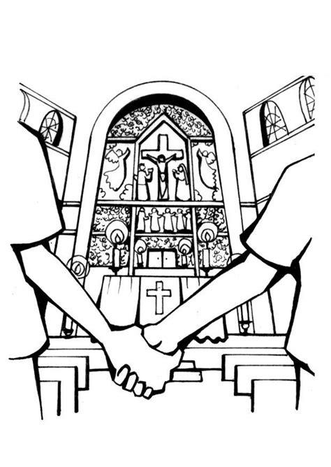 malvorlage kirche hochzeit kostenlose ausmalbilder zum