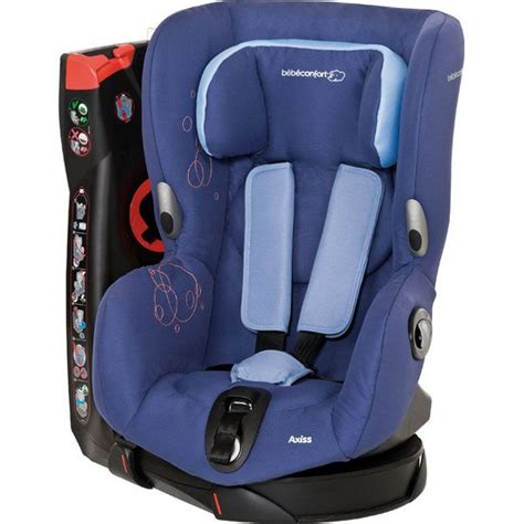 installation siege auto axiss bebe confort si 232 ge auto gr 1 axiss blue achat