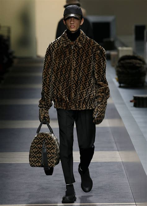 fendi fall winter 2018 men s collection the beep