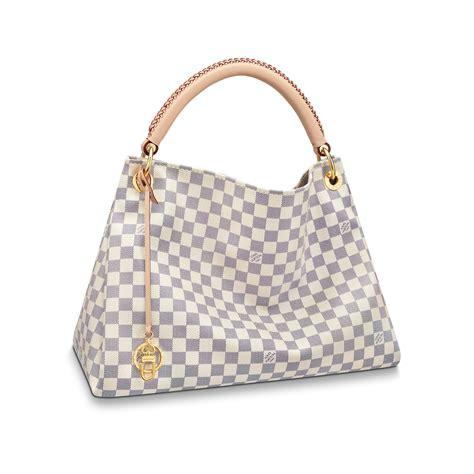 artsy mm damier azur canvas handbags louis vuitton