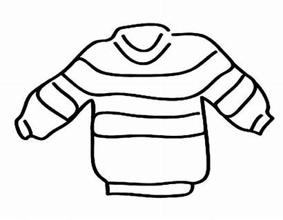 Coloring Clothes Sweater Raskrasil Striped