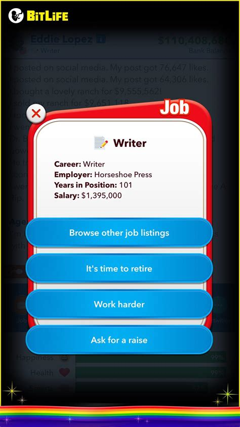 bitlife job please years put instagram done never before been comments