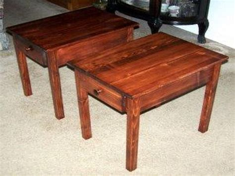 wood side table plans wood end table plans free side table wood plans easy