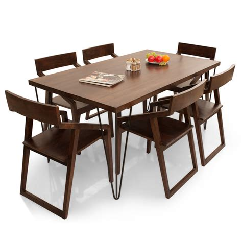 dining table set 6 seater oslo dulwich 6 seater dining table set thearmchair