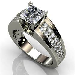 wedding rings real diamonds princess cut engagement ring engagement rings review