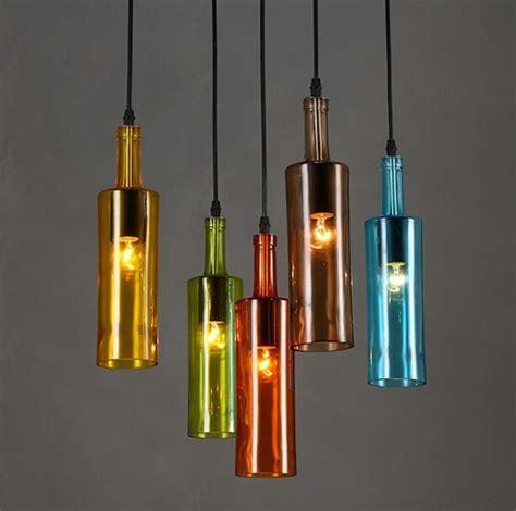 flaschenlampe selber bauen tolle anleitung und