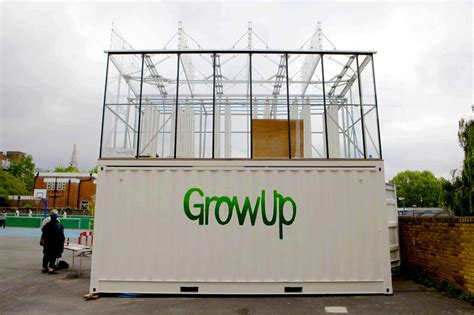 growup box  aquaponic shipping container farm