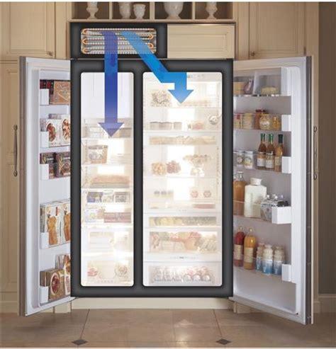 ge monogram  built  side  side refrigerator  dispenser zissdrss ge appliances