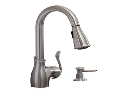 glacier bay pull kitchen faucet moen kitchen faucet soap dispenser replacement moen