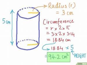 Cm2 Berechnen : die oberfl che eines zylinders berechnen wikihow ~ Themetempest.com Abrechnung