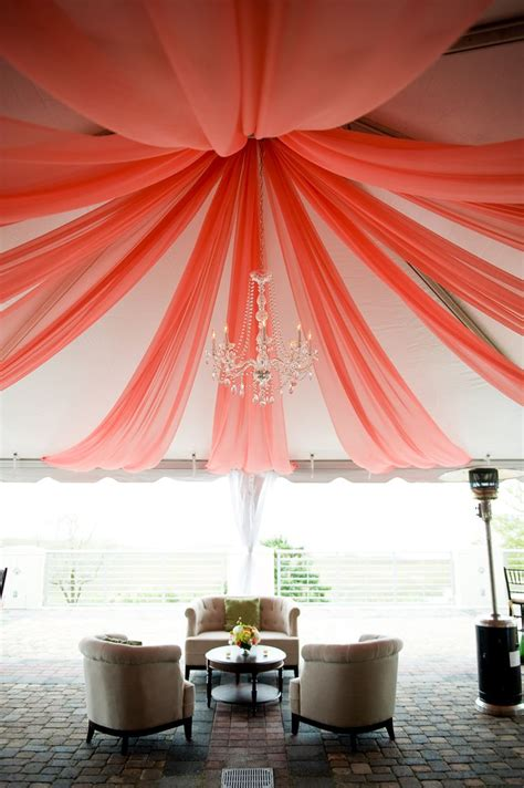 coral tent draping i designed by engaging events i
