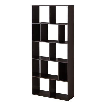 Cube Bookcase White by Mainstays 12 Cube Bookcase White Or Espresso Walmart