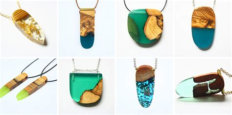 artist turns  wood  unique jewelry