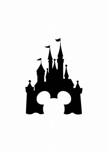 Disney Svg Ears Castle Mickey Walt Mouse