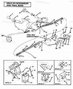 Polaris Atv 1986 Oem Parts Diagram For Wire Harness