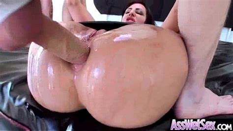 Anal Sex Tape With Wet Oiled Big Ass Superb Girl Dollie