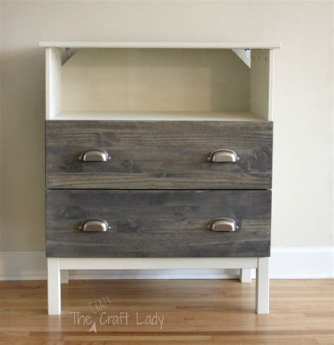 rolling tv stand ikea remodelaholic 25 ikea tarva chest hacks