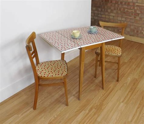1950 s formica kitchen table and matching chairs retro