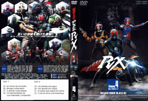 dvd kamen rider black rx volume 4 disco 7 loja de mdseriados