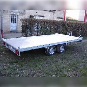 Location Remorque Porte Voiture Sans Permis E : remorque plateau multi usages porte voiture 4 m x 2 m cu ~ Melissatoandfro.com Idées de Décoration