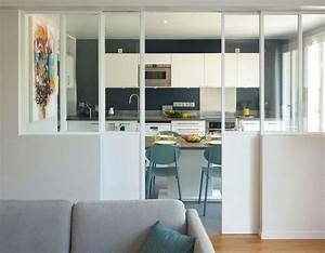 Maison proche Paris : séjour et cuisine relookés par archi
