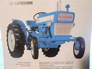 Tracteur Ford 3000 Super Dexta
