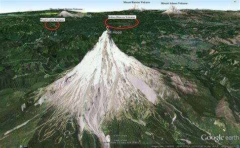 3192019 West Coast Us Eruption Mt Hood Volcano In