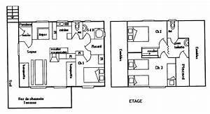 charmant plan maison 80 m2 plain pied 13 plan de maison With plan maison 80 m2 plain pied