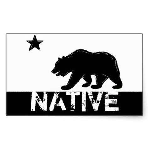 black white california native state bear stickers zazzle