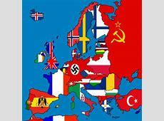 Flag map of Europe 1938 by DinoSpain on DeviantArt