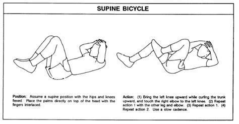 Modified Supine Bicycle by Hanngill S Fitness Center Circuit And Exercise