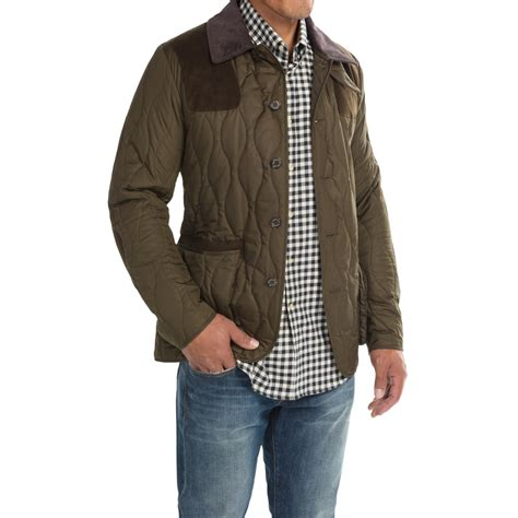 quilted jacket mens barbour sporting quilted jacket for 8956k save 75