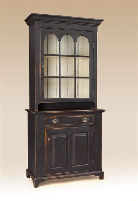 Primitive Cabinet by Primitive Country Hutch Cabinet Rustic Wall Cupboard