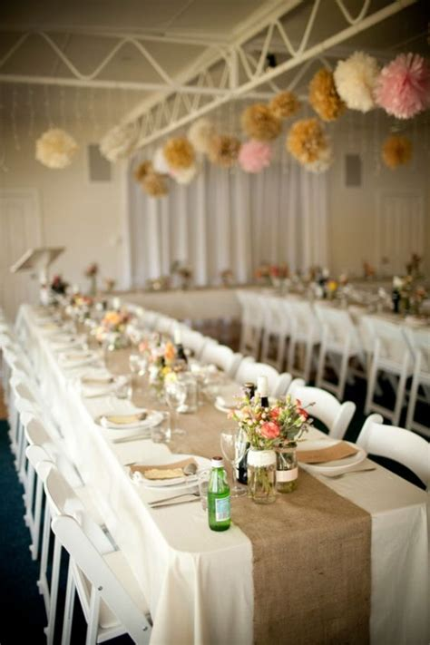 long tables rustic cottage and poof on pinterest