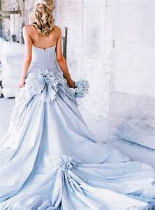 Meaning of the colored wedding dresses weddingelation for Blue wedding dress meaning