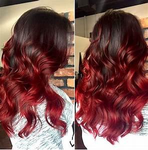 Ombré Hair Rouge : osez le rouge avec un ombre tout feu tout flamme ~ Melissatoandfro.com Idées de Décoration
