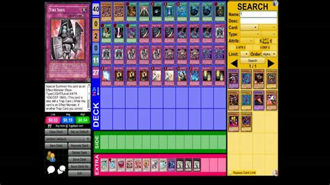 Odiontrap Monster Deck (yugioh) Youtube