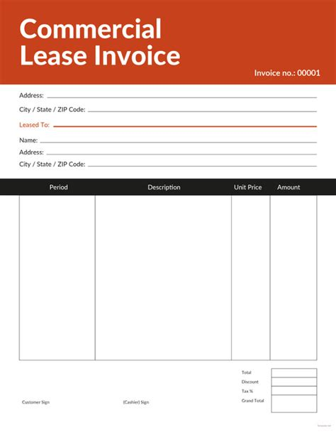 general invoice template   word excel