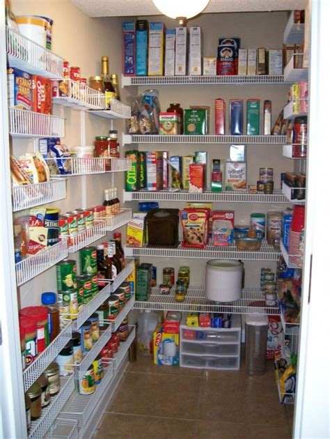 gorgeous walk in pantry shelving units with wall mounted