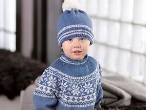 Strickanleitung norweger pullover baby