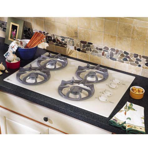 ge profile  built  gas cooktop  sealed cooktop burners   side controls